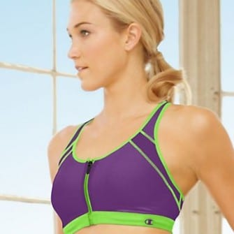 The Zip Sports Bra