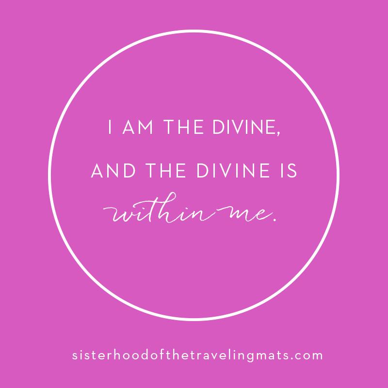 I am the Divine